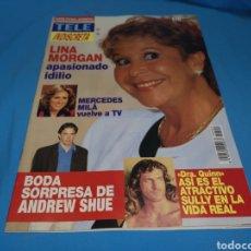 Coleccionismo de Revistas y Periódicos: REVISTA TELE INDISCRETA, LINA MORGAN, NUMERO 502 AÑO 1994. Lote 162788041
