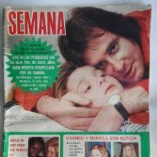 Coleccionismo de Revistas y Periódicos: REVISTA SEMANA N 1759 NOVIEMBRE 1973. Lote 162891837