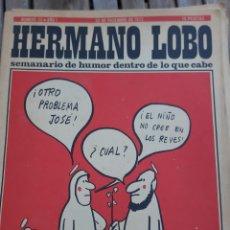 Coleccionismo de Revistas y Periódicos: HERMANO LOBO. N° 33. AÑO I. 23 DICIEMBRE 1972. Lote 162965700