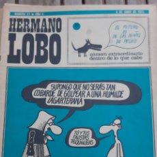 Coleccionismo de Revistas y Periódicos: HERMANO LOBO. N° 57. AÑO II. 9 JUNIO 1973. Lote 162968373