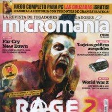 Coleccionismo de Revistas y Periódicos: MICROMANIA N. 286 ABRIL 2019 - EN PORTADA: RAGE 2 (NUEVA). Lote 172022132