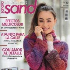 Coleccionismo de Revistas y Periódicos: SANDRA REVISTA DE PUNTO N. 12 - 34 DISEÑOS CON INSTRUCCIONES DETALLADAS (NUEVA). Lote 163040414
