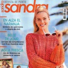 Coleccionismo de Revistas y Periódicos: SANDRA REVISTA DE PUNTO N. 17 - 27 DISEÑOS CON INSTRUCCIONES DETALLADAS (NUEVA). Lote 163040594