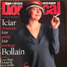Coleccionismo de Revistas y Periódicos: EL DOMINICAL Nº 97 1-1996 ICIA BOLLAIN POSTER JAVIER BARDEM GEORGE MICHAEL TRIBUTOS ROCK. Lote 163072722
