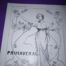 Coleccionismo de Revistas y Periódicos: PRIMAVERAL NUM 3 DE LA 2 SERIE RAMON RUCABADO PERE J BASSEGODA JOSEP A CABRER ANDRES CALZADA. Lote 163088214
