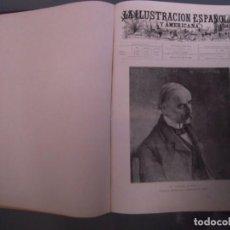 Coleccionismo de Revistas y Periódicos: LA ILUSTRACION ESPAÑOLA Y AMERICANA 1 TOMO 1900 EXPOSICION UNIVERSAL DE PARIS. Lote 163194138