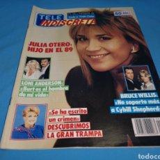 Coleccionismo de Revistas y Periódicos: REVISTA TELE INDISCRETA, JULIA OTERO HIJO EN EL 89, NÚMERO 206 AÑO 1989. Lote 270405863