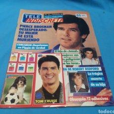 Coleccionismo de Revistas y Periódicos: REVISTA TELE INDISCRETA, PIERCE BROSNAN, NUMERO 213 AÑO 1989. Lote 163336953