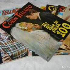 Coleccionismo de Revistas y Periódicos: LOTE 7 REVISTAS FOTONOVELAS + 2 EXTRAS DE - - CORÍN TELLADO - - MUY BUEN ESTADO - ¡MIRA!. Lote 163341878