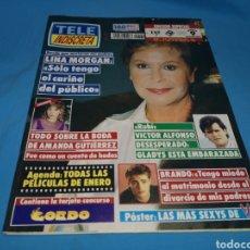Coleccionismo de Revistas y Periódicos: REVISTA TELE INDISCRETA, LINA MORGAN, NUMERO 360 AÑO 1992. Lote 163347165