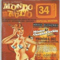 Coleccionismo de Revistas y Periódicos: MONDO BRUTTO 34. Lote 163347378