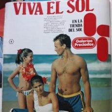 Coleccionismo de Revistas y Periódicos: ANUNCIO GALERIAS PRECIADOS. Lote 163376918