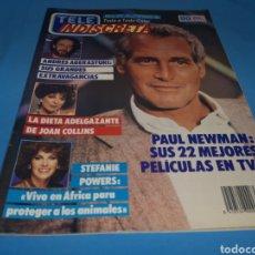 Coleccionismo de Revistas y Periódicos: REVISTA TELE INDISCRETA, PAUL NEWMAN, NÚMERO 176 AÑO 1988. Lote 163392380