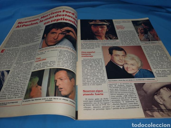 Coleccionismo de Revistas y Periódicos: Revista tele indiscreta, el nuevo don Johnson, número 185 año 1988 - Foto 2 - 163394832