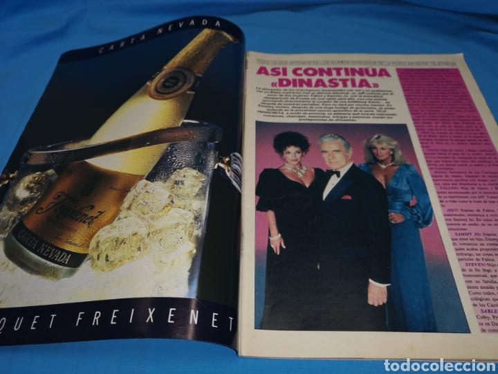 Coleccionismo de Revistas y Periódicos: Revista tele indiscreta, dinastía continúa, número 201 año 1988 - Foto 2 - 163395304