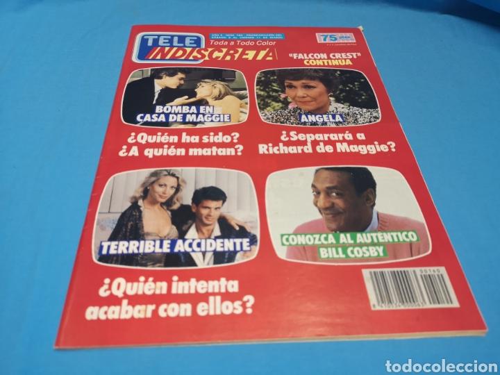 Coleccionismo de Revistas y Periódicos: Revista tele indiscreta, Bill Cosby, numero 160 - Foto 2 - 163401556