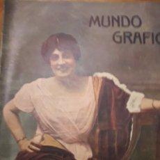 Coleccionismo de Revistas y Periódicos: REVISTA MUNDO GRAFICO. Lote 163600328