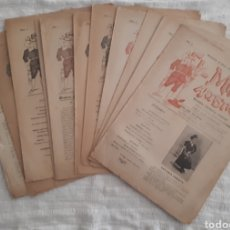 Coleccionismo de Revistas y Periódicos: REVISTA LITERARIA - TEATRAL. EL MUNDO ARTÍSTICO. 1900 - 1901. Lote 163611722