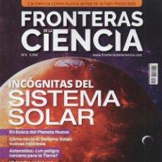 Coleccionismo de Revistas y Periódicos: FRONTERAS DE LA CIENCIA N. 4 - EN PORTADA: INCOGNITAS DEL SISTEMA SOLAR (NUEVA). Lote 180247146