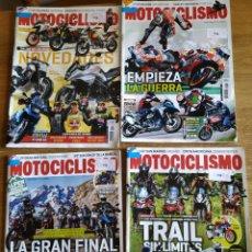 Coleccionismo de Revistas y Periódicos: LOTE 4 REVISTAS DE MOTOS - MOTOCICLISMO. Lote 163953577