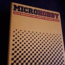 Coleccionismo de Revistas y Periódicos: ARCHIVADOR DE LA REVISTA MICROHOBBY MICRO HOBBY PARA LOS NUMEROS 1 AL 20. Lote 163957402