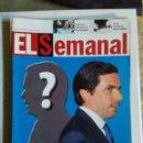 Coleccionismo de Revistas y Periódicos: EL SEMANAL - Nº 743 DEL 20 AL 26 DE ENERO DE 2002. Lote 163977590