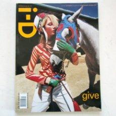Coleccionismo de Revistas y Periódicos: I-D MAGAZINE-THE GIFT ISSUE NO. 204-DEC 2000. Lote 163987546