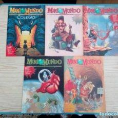 Coleccionismo de Revistas y Periódicos: LOTE 39 REVISTAS MINI MUNDO. Lote 164001166