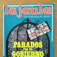 Coleccionismo de Revistas y Periódicos: REVISTA LA JAULA NUMERO PRESENTACIÓN 1976 ROSA VALENTY, NADIUSKA, ÁGATA LYS, PAU CASALS. Lote 164060994
