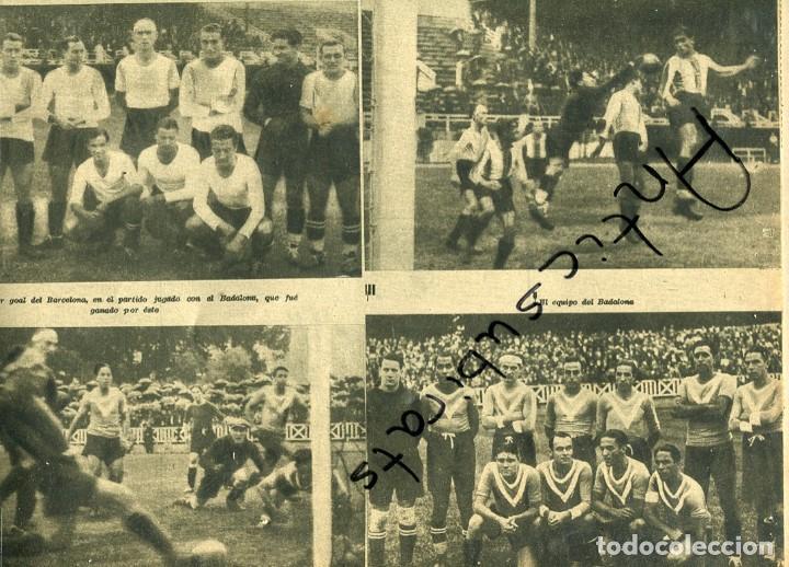 EL DIA GRAFICO GUERRA CIVIL 1936 FUTBOL SABADELL GERONA GRANOLLERS RCD ESPAÑOL BADALONA BARCELONA (Coleccionismo - Revistas y Periódicos Antiguos (hasta 1.939))