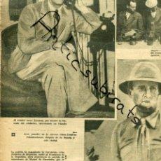 Coleccionismo de Revistas y Periódicos: EL DIA GRAFICO GUERRA CIVIL 1936 CERVANTES ESQUIVIAS TOLEDO ZALAMEA DE LA SERENA LINA ODENA PESTAÑA . Lote 164118298