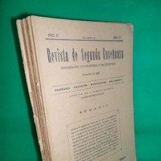 Coleccionismo de Revistas y Periódicos: LOTE DE 5 REVISTA DE SEGUNDA ENSEÑANZA, MADRID, 1926-27, VER DESCRIPCIÓN. Lote 164174850