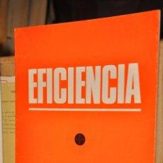 Coleccionismo de Revistas y Periódicos: REVISTA EFICIENCIA, MARZO 1969. Lote 164186842