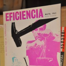 Coleccionismo de Revistas y Periódicos: REVISTA EFICIENCIA, MAYO 1965. Lote 164187542