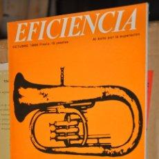 Coleccionismo de Revistas y Periódicos: REVISTA EFICIENCIA, OCTUBRE 1966. Lote 164189002