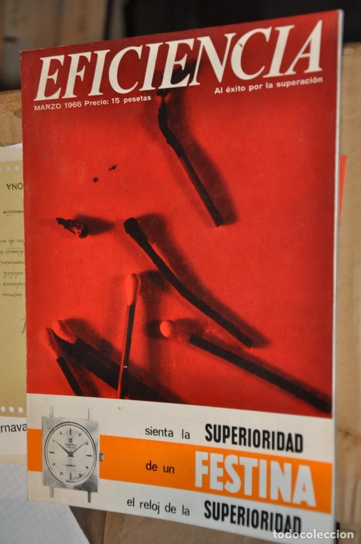 REVISTA EFICIENCIA, MARZO 1966 (Coleccionismo - Revistas y Periódicos Modernos (a partir de 1.940) - Otros)