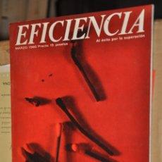 Coleccionismo de Revistas y Periódicos: REVISTA EFICIENCIA, MARZO 1966. Lote 164189218