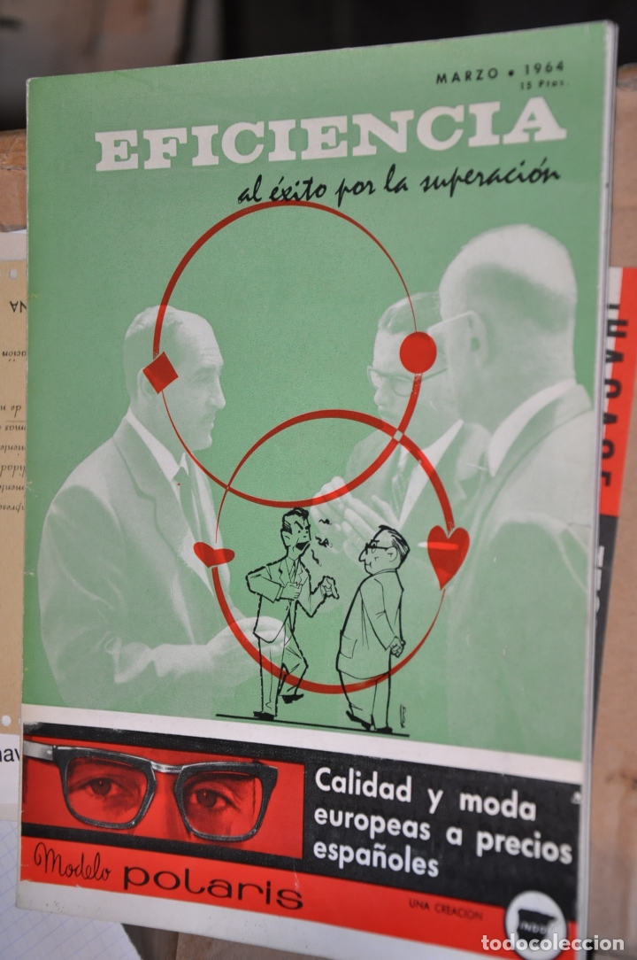 REVISTA EFICIENCIA, MARZO 1964 (Coleccionismo - Revistas y Periódicos Modernos (a partir de 1.940) - Otros)