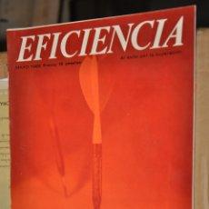 Coleccionismo de Revistas y Periódicos: REVISTA EFICIENCIA, MAYO 1966. Lote 164192790