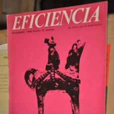 Coleccionismo de Revistas y Periódicos: REVISTA EFICIENCIA, DICIEMBRE 1966. Lote 164192878