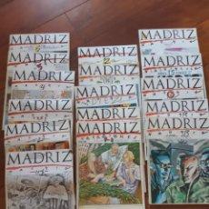 Coleccionismo de Revistas y Periódicos: LOTE 16 REVISTAS MADRIZ.. Lote 164205750