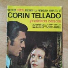Coleccionismo de Revistas y Periódicos: LOTE 3 FOTONOVELAS - CORAL PRESENTA LA FOTONOVELA COMPLETA DE CORIN TELLADO - Nº 25, 30, 34. Lote 164497850