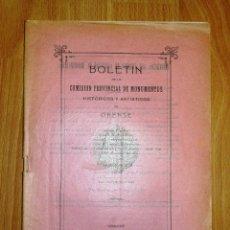 Coleccionismo de Revistas y Periódicos: BOLETÍN DE LA COMISIÓN DE MONUMENTOS HISTÓRICOS Y ARTÍSTICOS DE ORENSE. TOMO IX, 1931, Nº 196. Lote 164520498