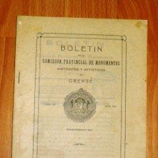 Coleccionismo de Revistas y Periódicos: BOLETÍN DE LA COMISIÓN DE MONUMENTOS HISTÓRICOS Y ARTÍSTICOS DE ORENSE. TOMO XII, 1940, Nº 250. Lote 164527162