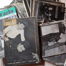 Coleccionismo de Revistas y Periódicos: PRIMER ACTO. Nº 1, 2, 3, 4, 5, 6, 7, 8, 9, 10. 1957. Lote 164583710