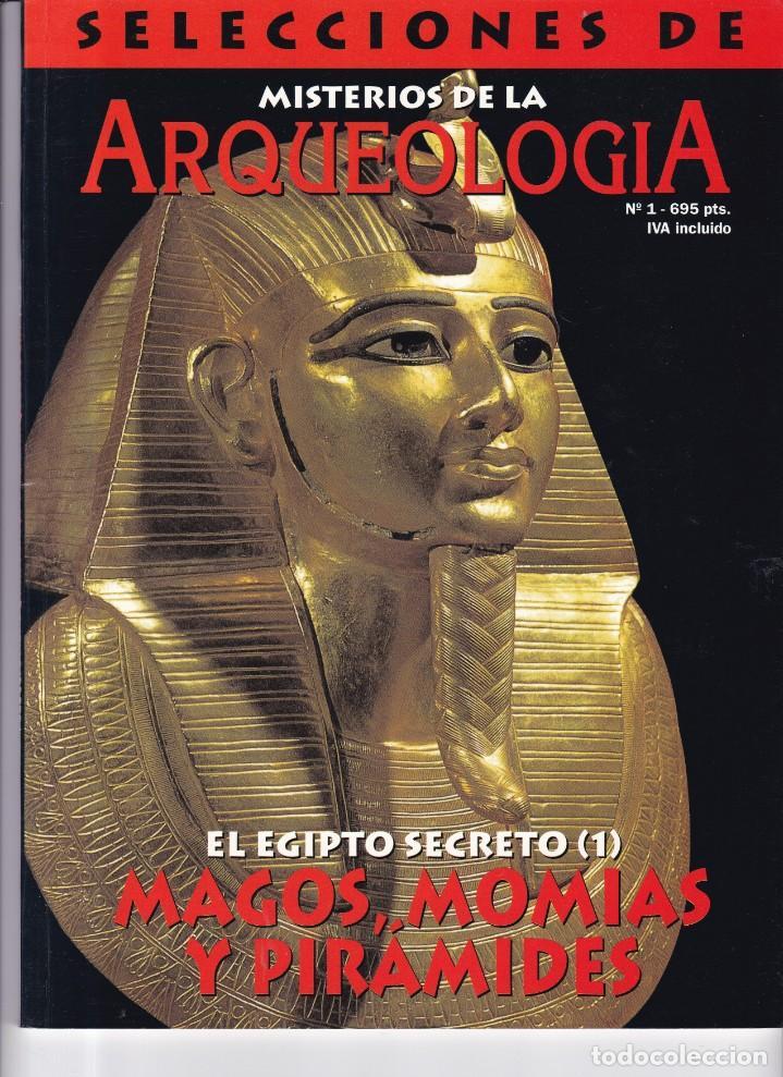 ARQUEOLOGIA - Nº 1 - SELECCIONES DE MISTERIOS DE LA ARQUEOLOGIA (Coleccionismo - Revistas y Periódicos Modernos (a partir de 1.940) - Otros)