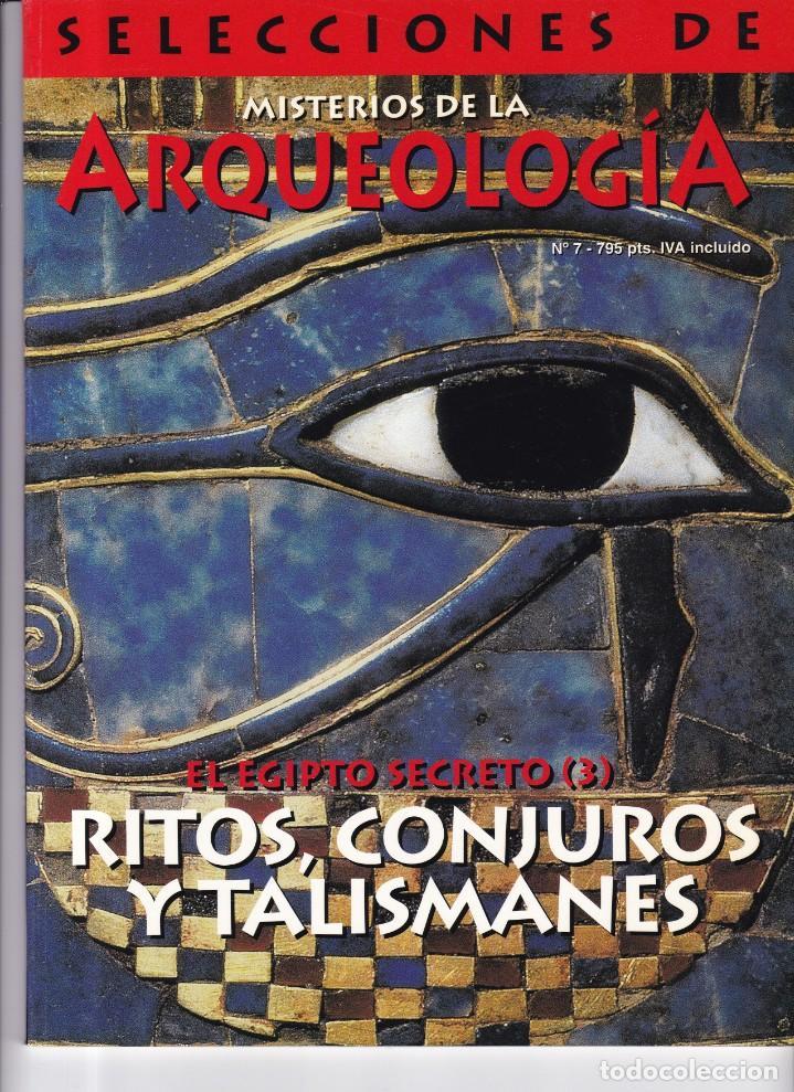 ARQUEOLOGIA - Nº 7 - SELECCIONES DE MISTERIOS DE LA ARQUEOLOGIA (Coleccionismo - Revistas y Periódicos Modernos (a partir de 1.940) - Otros)