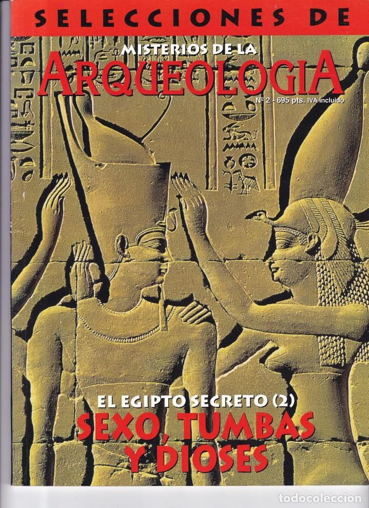 ARQUEOLOGIA - Nº 2 - SELECCIONES DE MISTERIOS DE LA ARQUEOLOGIA (Coleccionismo - Revistas y Periódicos Modernos (a partir de 1.940) - Otros)
