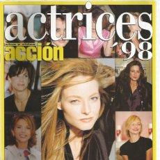 Coleccionismo de Revistas y Periódicos: ACCION ACTRICES 98. Lote 164685478