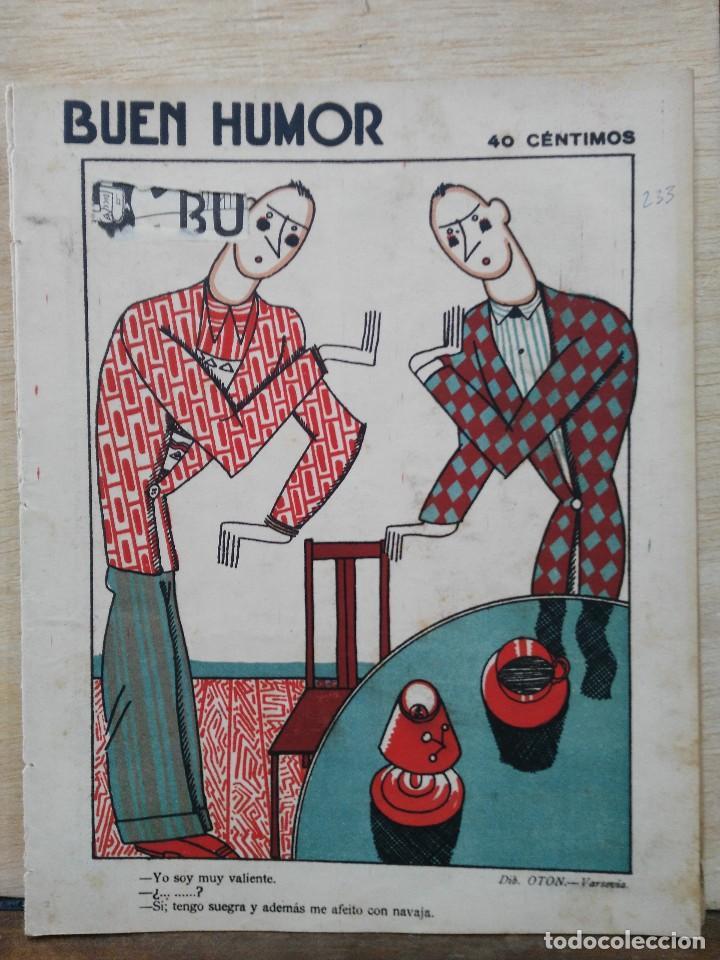 REVISTA BUEN HUMOR - AÑO V, Nº 233 - MAYO 1926 (Coleccionismo - Revistas y Periódicos Antiguos (hasta 1.939))